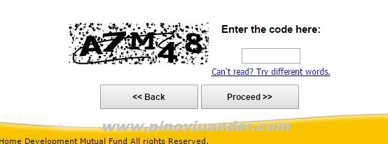 HDMF online registration 1