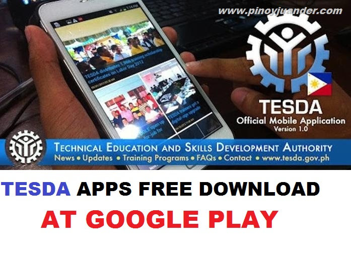 TESDA Program Online Courses apps