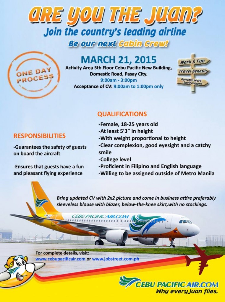cebu pacific jobs