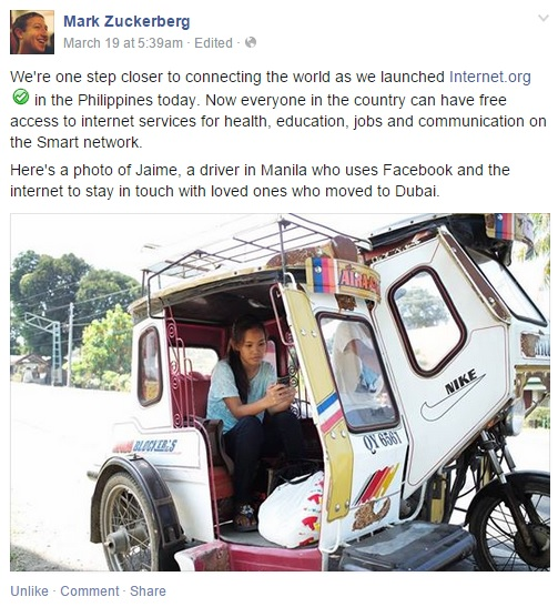 internet org free internet in the philippines