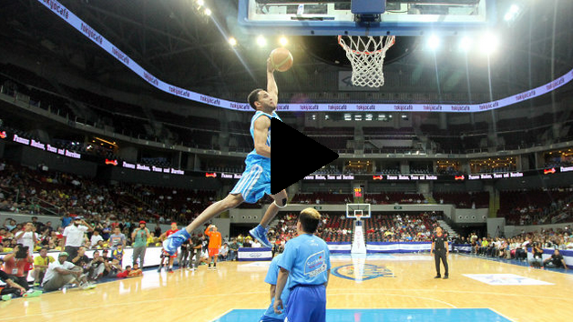 justin melton 2015 pba all star slam dunk