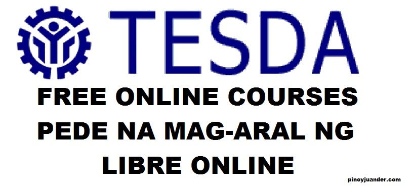tesda free courses online