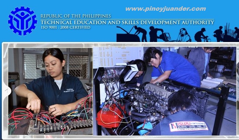 tesda offered courses online