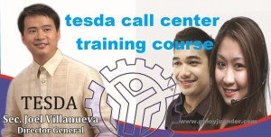 complete list of tesda courses offered and trainings ph