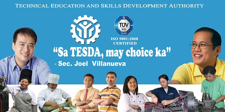 tesda courses offred