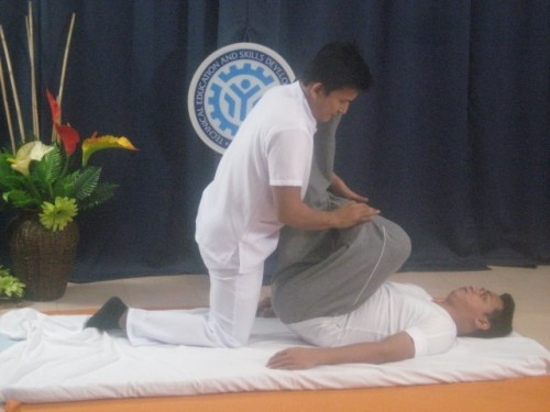 tesda online program massage therapy course