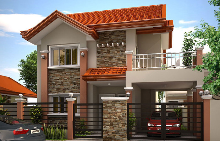 Awesome house concept designs by pinoy eplans ph juander for House garage design philippines