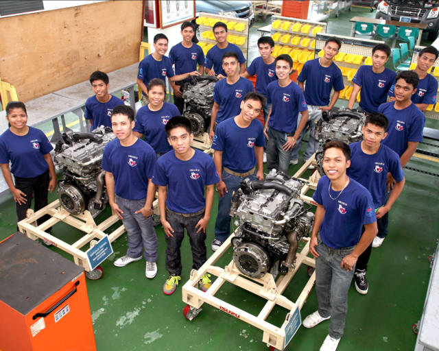 Auto Body college subjects in philippines