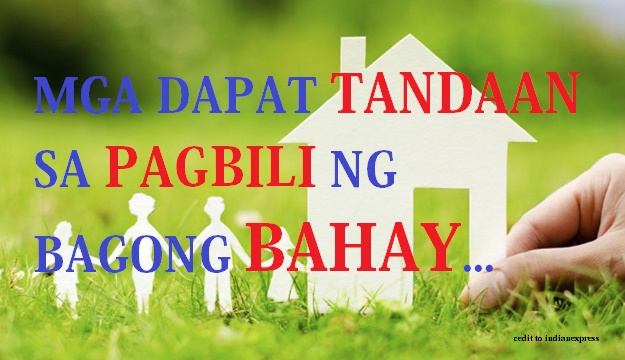 BUYING NEW HOME OR HOUSE