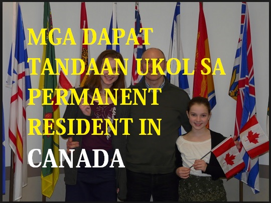 CANADIAN PERMANENT RESIDENTS