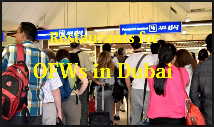 OFWs in Dubai