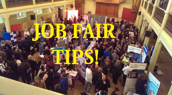 POINTERS IN JOB FAIR