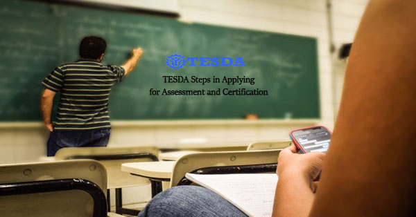 How To Apply For Tesda Assessment And Certification Regular
