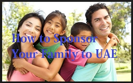 how to sponsoring family in UAE