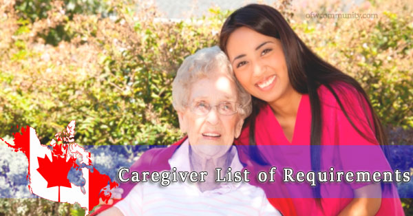 Canada-Caregiver-List-of-Requirements
