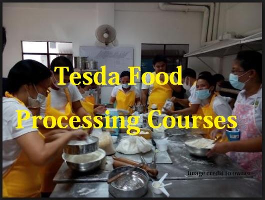 Tesda Food Processing Courses