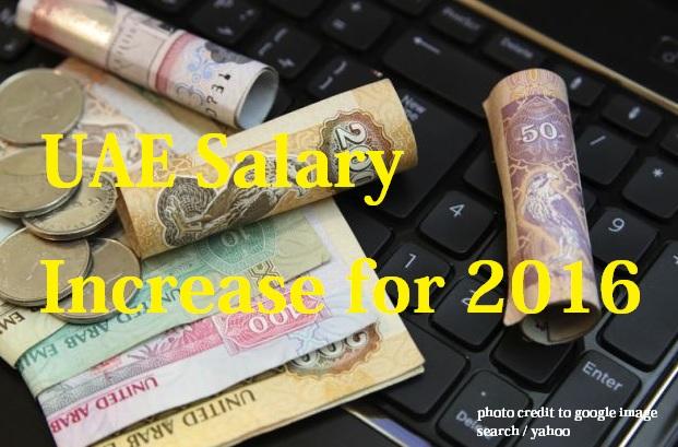 UAE Get 4.9% Salary Increase This 2016