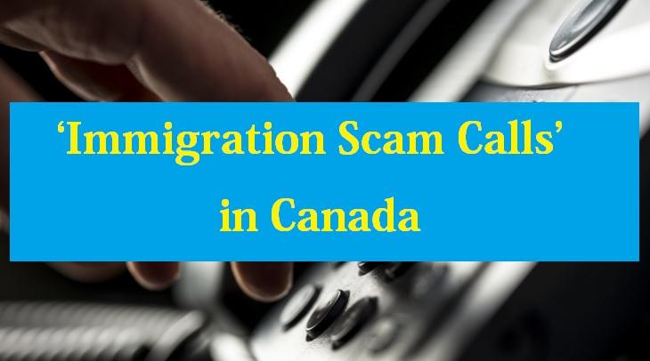 Immigration Scam Calls