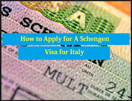 Schengen Visa for Italy