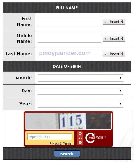 comelec voters registration verification online