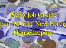 POEA-Job-Order-Japan-To-Hire-New-Foreign-Housekeepers
