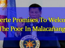 Duterte-Promises-To-Welcome-The-Poor-In-Malacañang