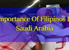 Importance-Of-Filipinos-In-Saudi-Arabia