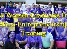 Over-40-OFW-Women-Graduates-From-Micro-Entrepreneurship-Training