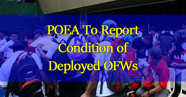 POEA-To-Report-Condition-of-Deployed-OFWs