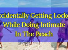 Accidentally-Getting-Locked-While-Doing-Intimate-In-The-Beach