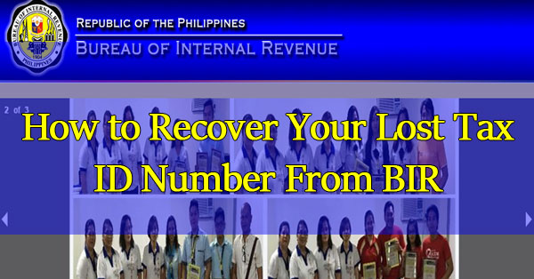 How-to-Recover-Your-Lost-Tax-ID-Number-From-BIR