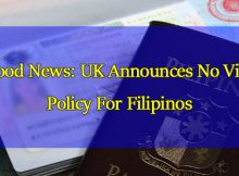 UK-Announces-No-Visa-Policy-For-Filipinos