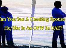can-you-sue-a-cheating-spouse-if-she-is-an-ofw-in-uae