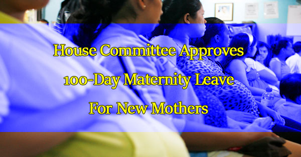 house-committee-approves-100-day-maternity-leave-for-new-mothers