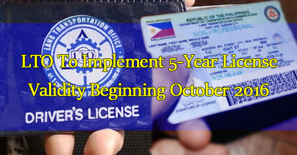 lto-to-implement-5-year-license-validity-beginning-october-2016