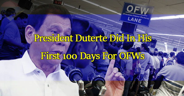 what-duterte-did-in-his-first-100-days-for-ofws