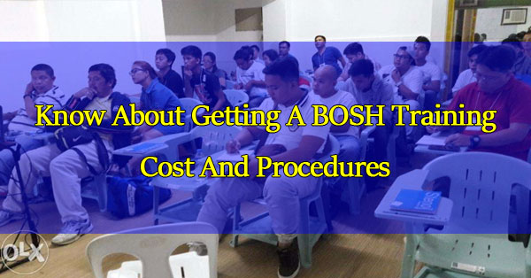 know-about-getting-a-bosh-training-cost-and-procedures