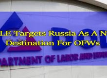 DOLE Targets Russia As A New Destination For OFWs