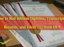 How-to-Red-Ribbon-Diploma,-Transcript-of-Records,-and-Form-137-from-DFA