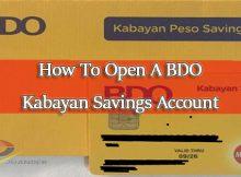 How-To-Open-A-BDO-Kabayan-Savings-Account