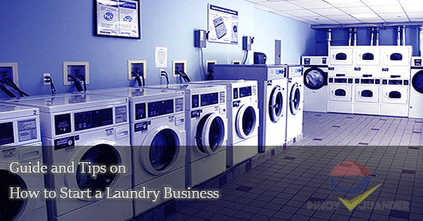 Guide and Tips on Start a Laundry Business - PH Juander