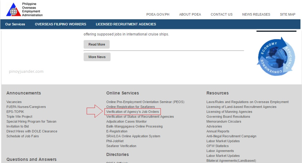 Steps on How to Look for Overseas Jobs at POEA website_1