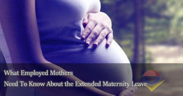 maternity leave on employed mothers