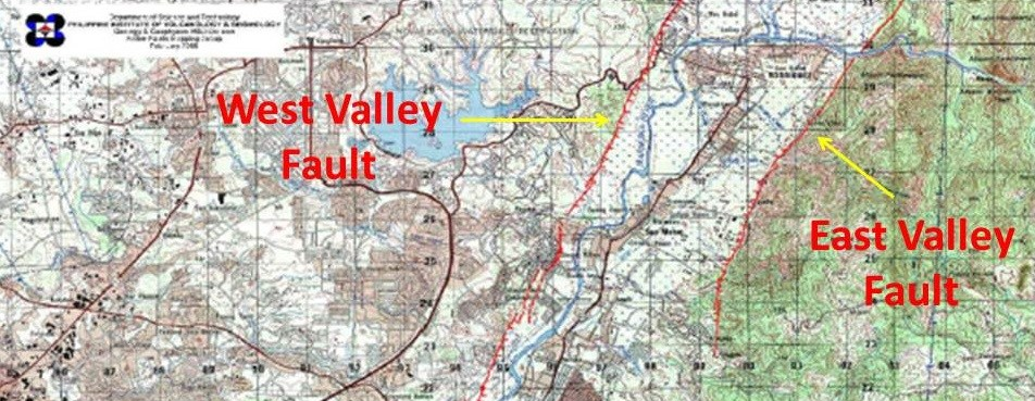 West-Valley-and-East-Valley-Fault-Map